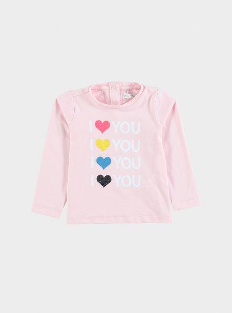 T-Shirt in cotone elastico