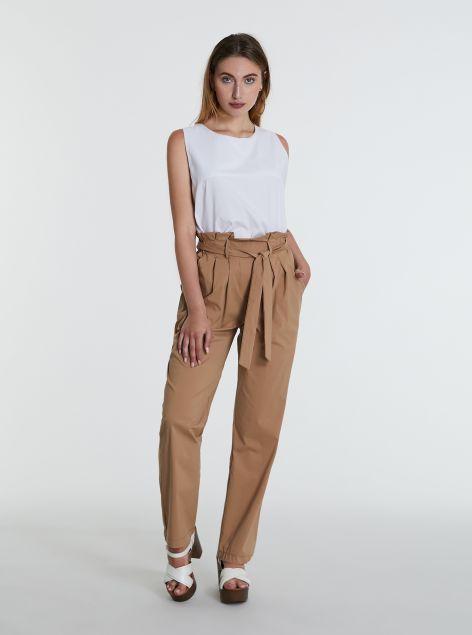 Pantaloni paperbag