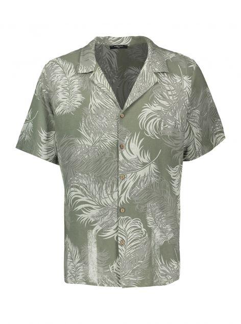 Camicia stampa tropicale