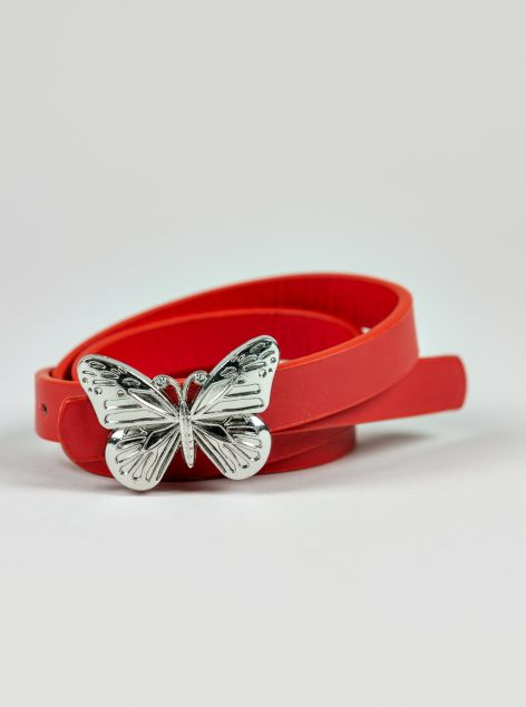 Cintura fibbia farfalla