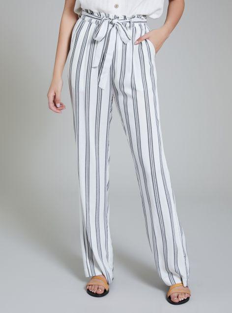 Pantalone ampio con coulisse