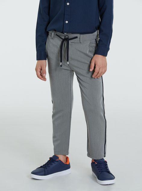 Pantaloni classici con coulisse