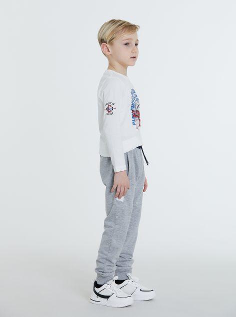 Pantaloni sportivi con banda laterale