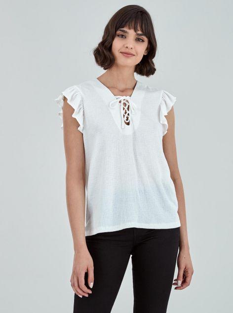 T-Shirt strutturata