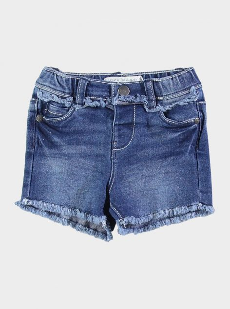 Shorts in denim sfilacciati