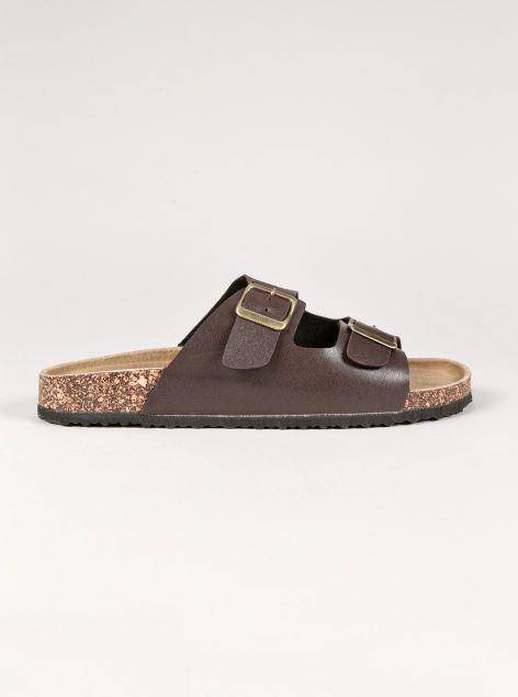 Sandalo con fibbie