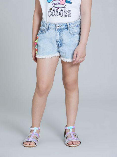 Shorts con applicazioni