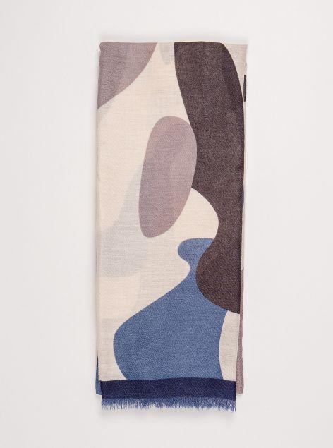 Foulard stampa camouflage