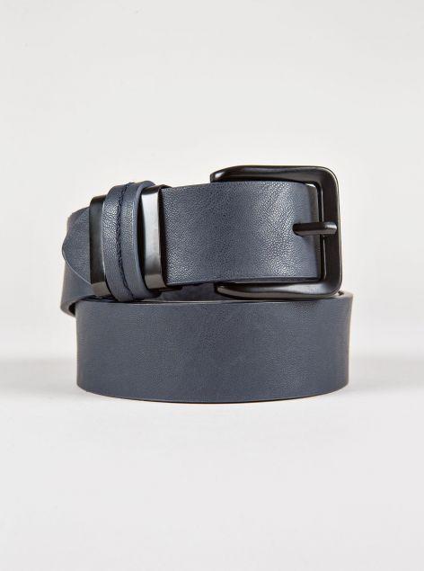 Cintura con fibbia a contrasto