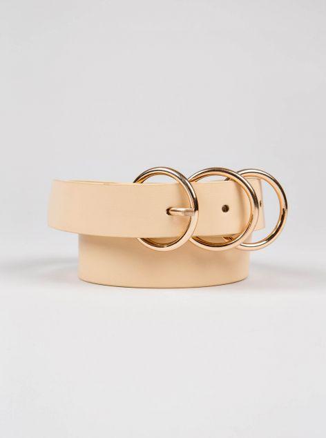 Cintura chiusura  anelli