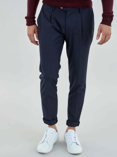 Pantaloni Pinces Slim Fit