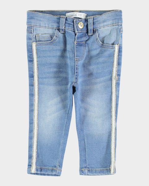Jeans con bande