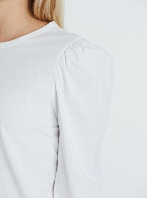 T-Shirt con maniche a sbuffo