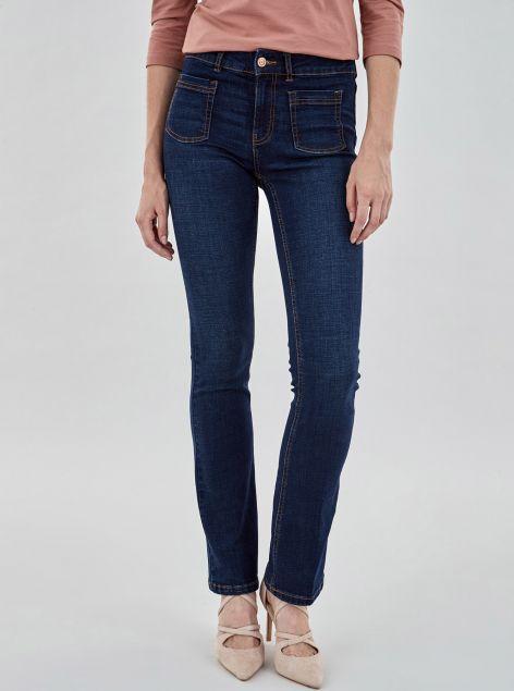 Jeans con taschini