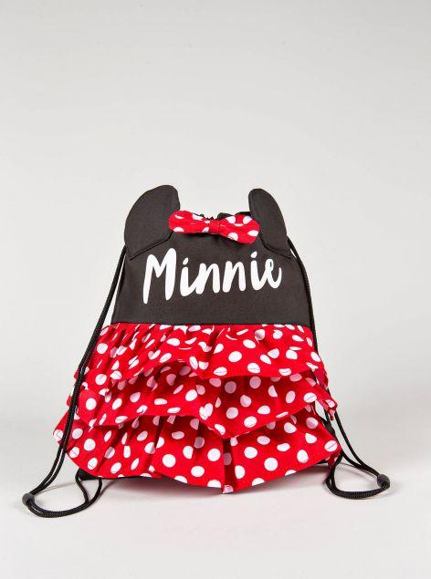 Zaino a sacchetto Minnie Mouse