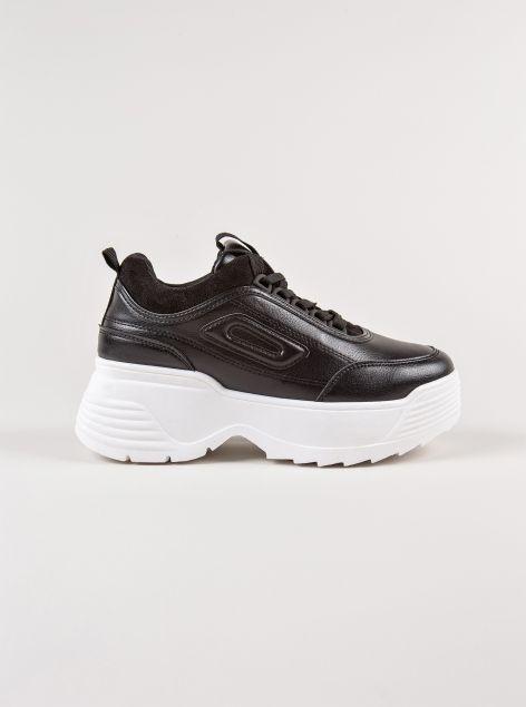 Sneakers con maxi suola