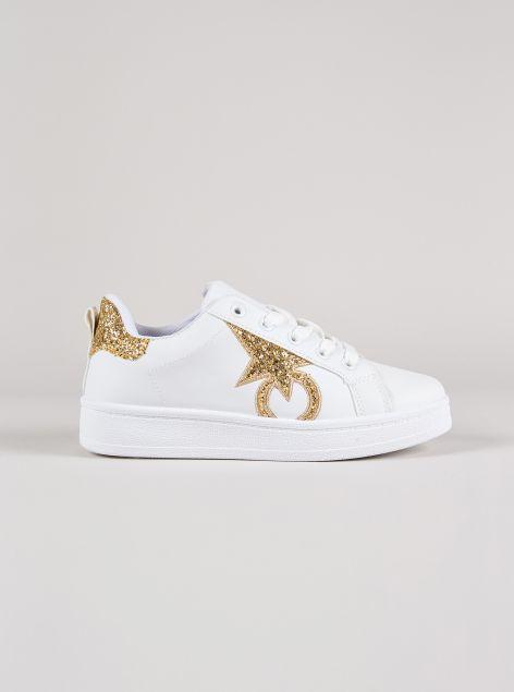Sneakers glitterata