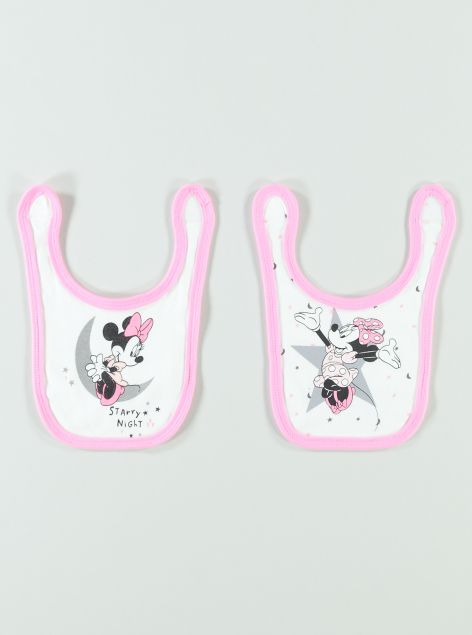 Bavetta 2 pack Minnie Mouse