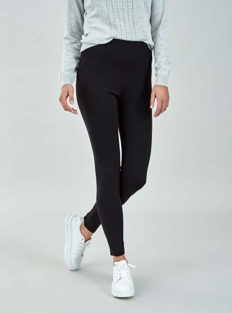 Leggings con cuciture