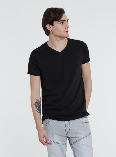 T-Shirt scollo a V