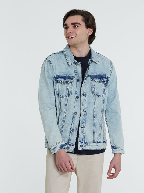 Giubbotto in denim