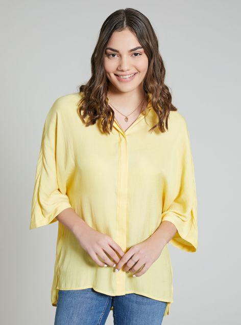 Camicia asimmetrica