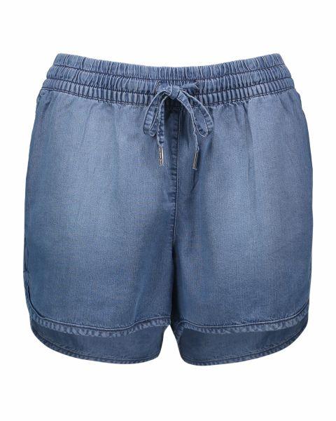 Shorts in tessuto morbido