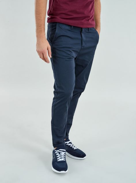 Pantaloni Slim Tapered Fit