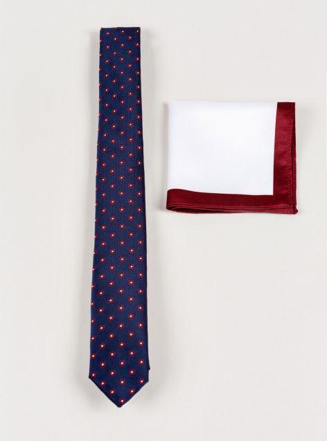Set cravatta e pochette