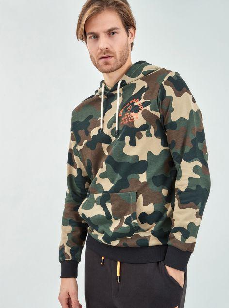 Felpa Camouflage