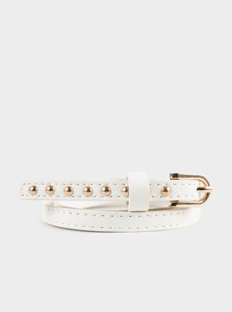 Cintura con borchie