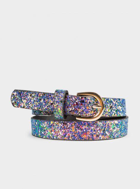 Cintura glitter