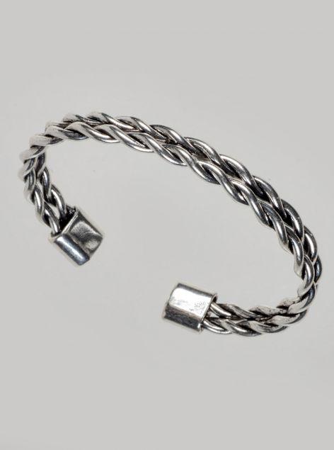 Bracciale rigido in acciaio