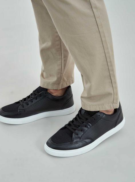 Sneakers con tomaia traforata