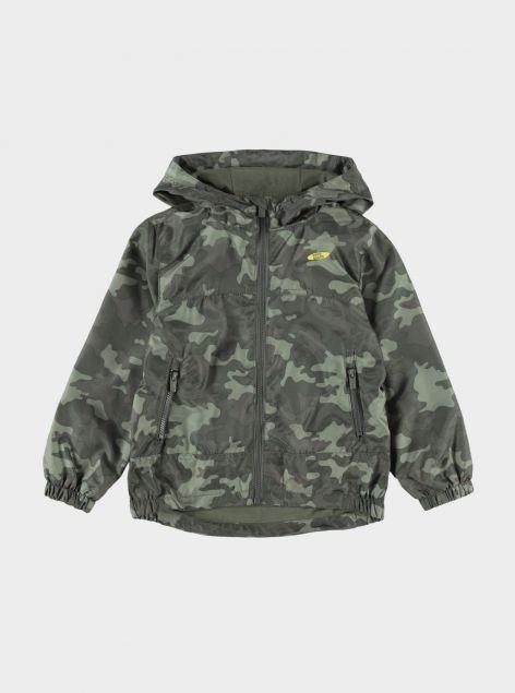 Giubbotto camouflage
