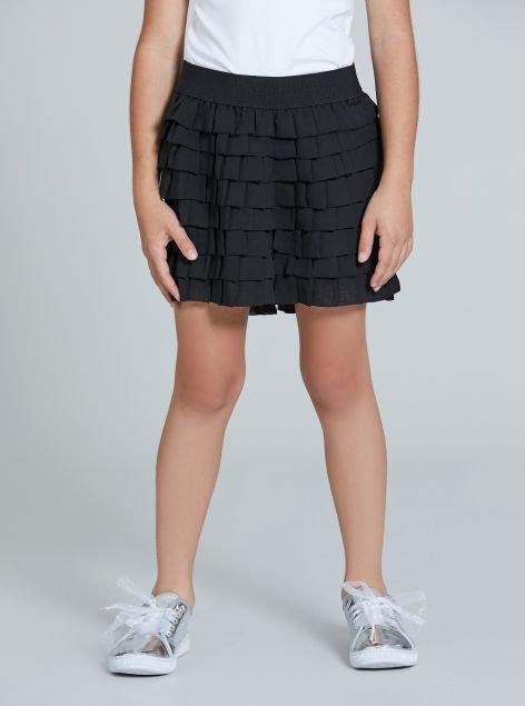 Shorts con drappeggio