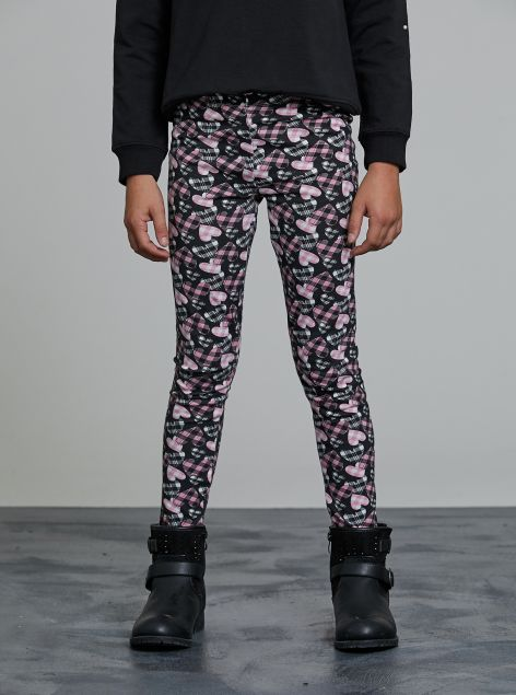 Leggings con stampe