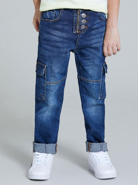 Jeans con tasconi