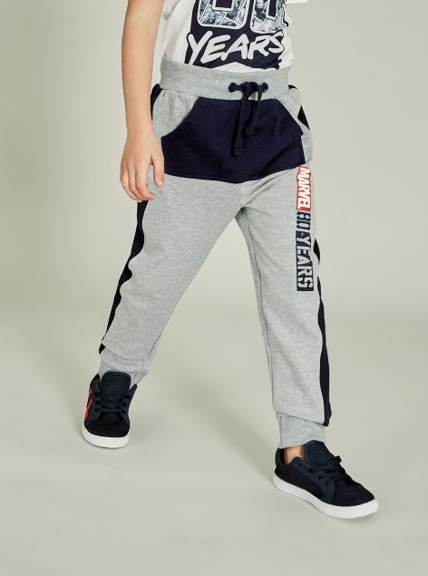 Panta-fitness Marvel con bande laterali