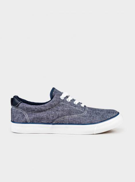 Sneakers in tessuto denim