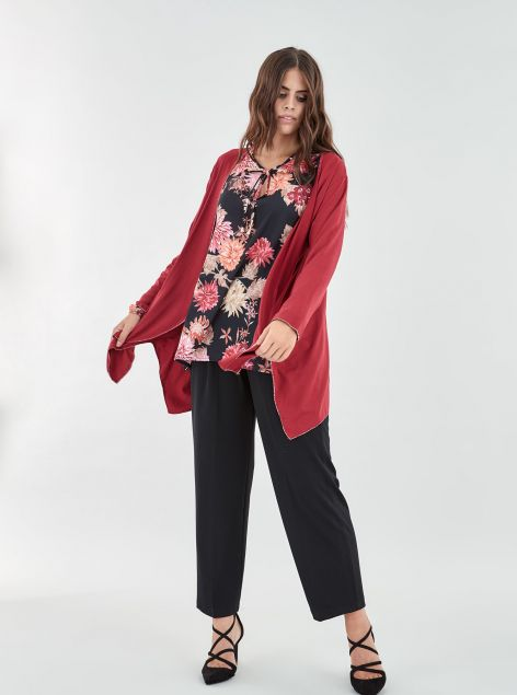 Cardigan over size
