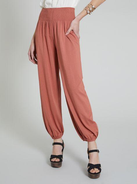 Pantalone in tessuto morbido