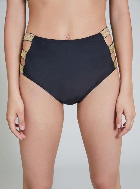 Slip bikini a vita alta