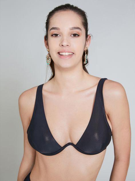 Top bikini strutturato