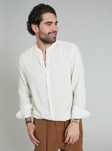 Camicia Collo Coreana