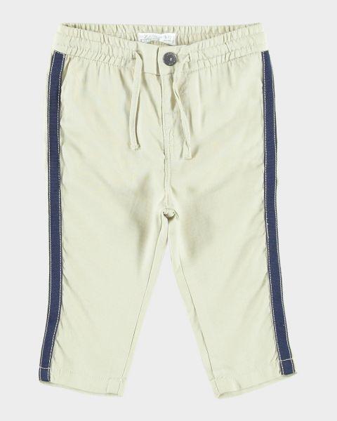 Pantaloni con banda laterale e laccetto