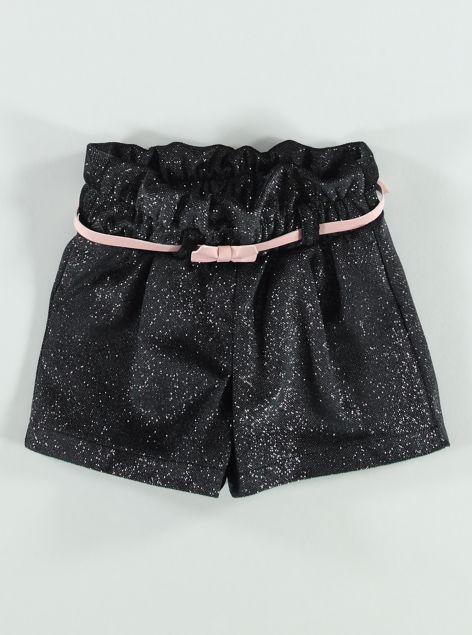 Shorts in lurex