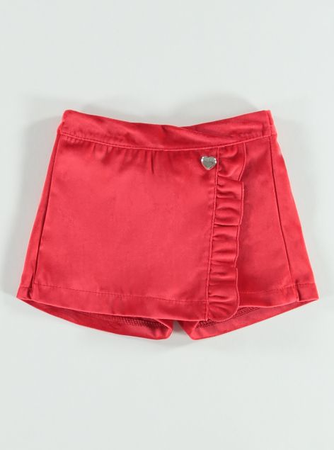 Shorts in velluto