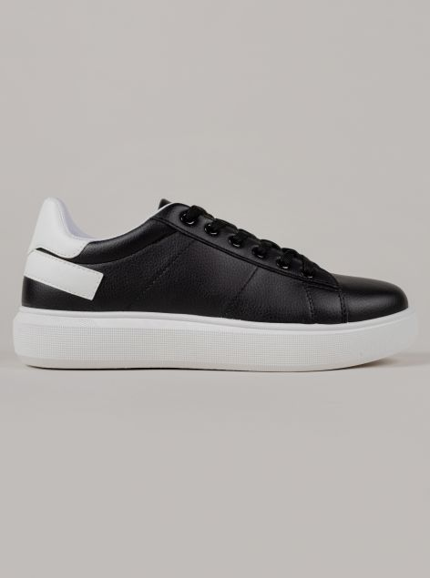 Sneakers in finta pelle