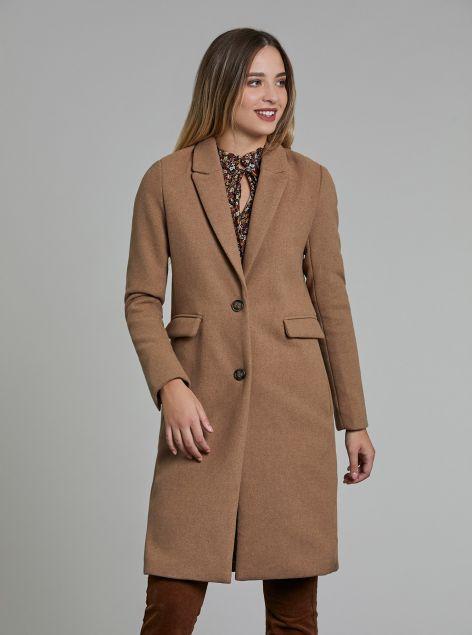 Cappotto con bottoni